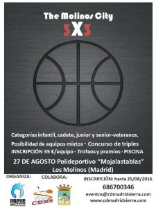 CARTEL 3X3 THE MOLINOS CITY
