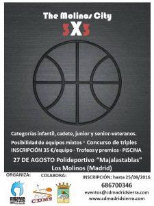 CARTEL 3X3 THE MOLINOS CITY MODIFICADO (PISCINA)